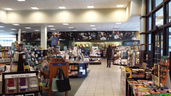 Barnes & Noble Newnan on a sleepy Friday morning.