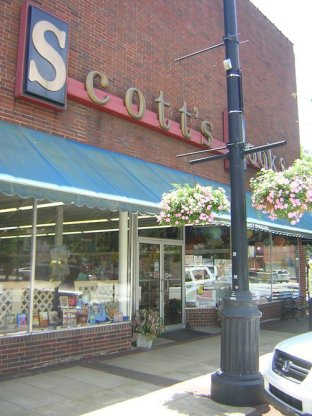 Scott's bookstore in its prime.
